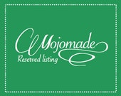 Reserved Listing for Melanie: Custom Monogram Coasters set of 20