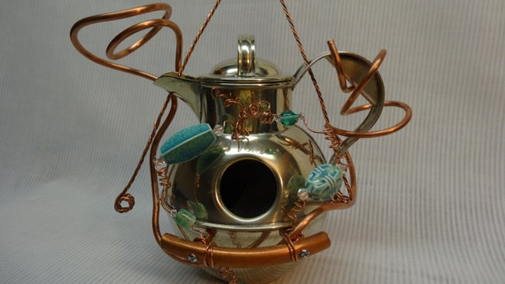 Whimsical Handmade Recycled Metal Coffeepot by ...