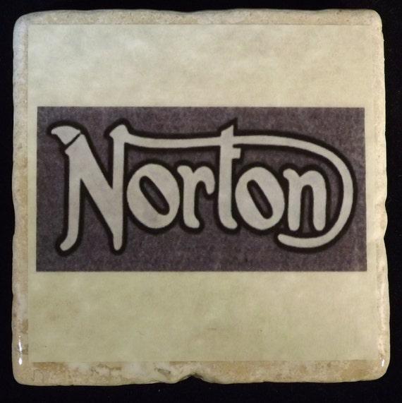 Norton Motorcycle Logo  Coaster
