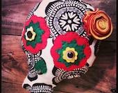 Sugar Skull Pillow...Custom Order