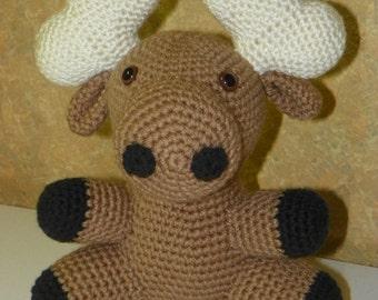 Monty Moose crochet pattern