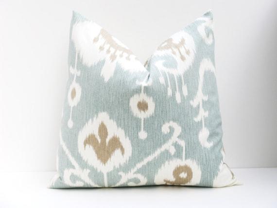 Spa Blue Throw Pillow Cover : Euro Sham 22x22 Pillow Cover Floor cushion Spa Blue by EastAndNest
