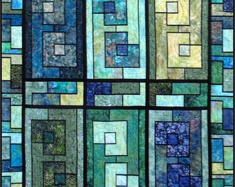 Garden Wall Lap Quilt PDF Pattern
