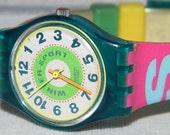 Vintage Ladies Fall Winter 1992 Swatch Swiss Swatch Classified  LL112 Watch
