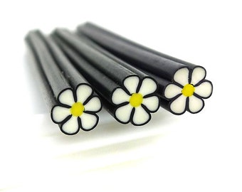 Flower Polymer Clay Cane / Fimo Cane For  Nail Art Decoration, Miniature Food / Dessert / Cake Decoration, Scrapbooking - PC087