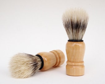 Mens Shaving Brush, Natural Shaving Brush, Mens Grooming Set, Groomsmen Gift, Bristle Shaving Brush