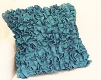 "Ruffled Pillow Sham (17""x17"")"