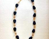 Carved-Black-Agate-Leaf-Crystal-Necklace