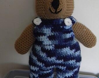 Overall Bears---Camo Version---Boy and Girl