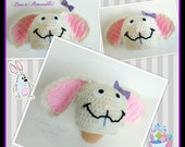 ALL SIZES Easter Bunny Beanie