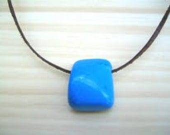 Stone Necklace . Animals Lovers