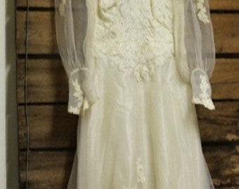 Wedding Gown 1981