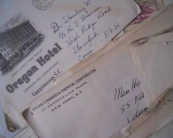 Vintage Love Letters 1930s Botanist and Entomologist Married Handwritten Correspondence Bundle Lot