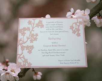 Custom Invitations - Bridal Showers - Baby Shower Invitations - Special Events-