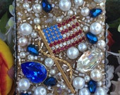 Patriotic Vintage iPhone 5 Case