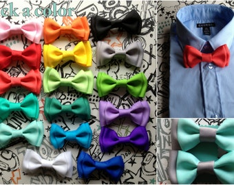Bow ties Newborn to Adult Toddler Bowties Baby Bowtie Holiday Bow tie Self Tie Spring Summer Groomsmen bow tie Wedding Ring Bearer Outfit