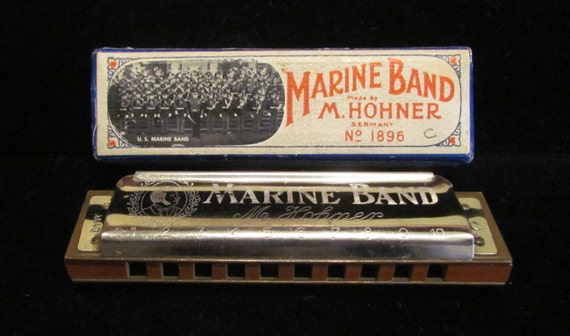 1930s hohner marine band harmonica by classiccollector. Black Bedroom Furniture Sets. Home Design Ideas