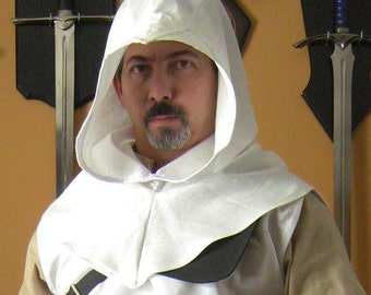 Medieval Celtic Peasant Monk Assassin Hood Style