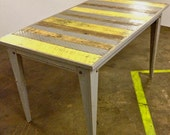 Retro pallet dining table Savannah Style
