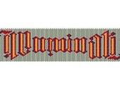 ILLUMINATI bracelet - PDF pattern