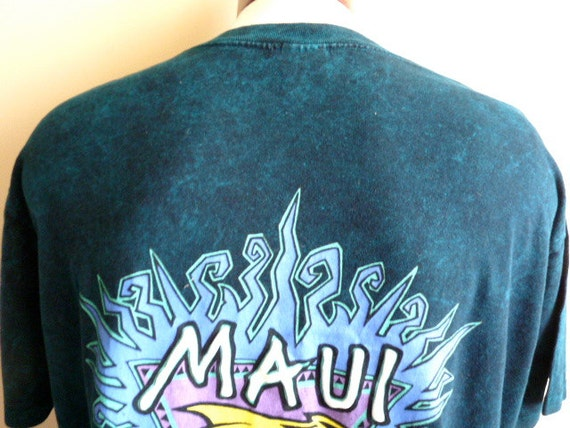 Rad vintage 90 39 s maui and sons pigment dyed acid washed for T shirt printing maui
