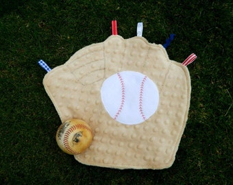Team Colors Baseball Mitt Snugglie