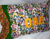 SALE Football Pillowcase Stnd size Perfect gift for Dad
