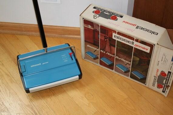 Vinatge Bissell Gemini Floor And Carpet Sweeper