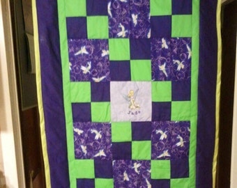 Tinkerbell Baby/Toddler Quilt