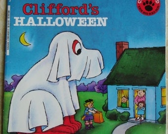 Vintage Clifford's Halloween by Norman Bridwell Scholastic Inc. 1986