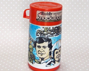 Vintage Retro Collectable 1979 Buck Rogers Kids Thermal Drink Bottle Flask by Aladdin