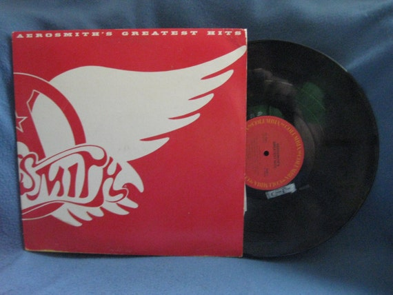 Vintage Aerosmith Greatest Hits Vinyl Lp