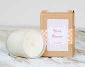Black Licorice Soy Candle// Candy Candle// Gift Candle