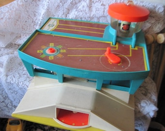 Green Airport Fisher price 1970s/ Hard to Find NOT INCLUDED In SALE