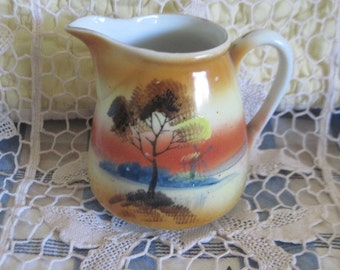Lusterware  Creamer Pitcher  Old Made in Japan :)