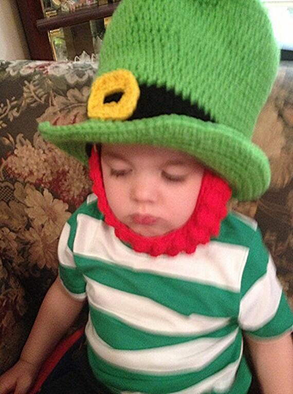 Artículos similares a Día de St Patrick de sombrero verde sombrero ...