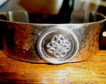 Sterling Silver Cuff Bracelet - Celtic Knot