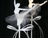 Ballerina Cupcake Toppers
