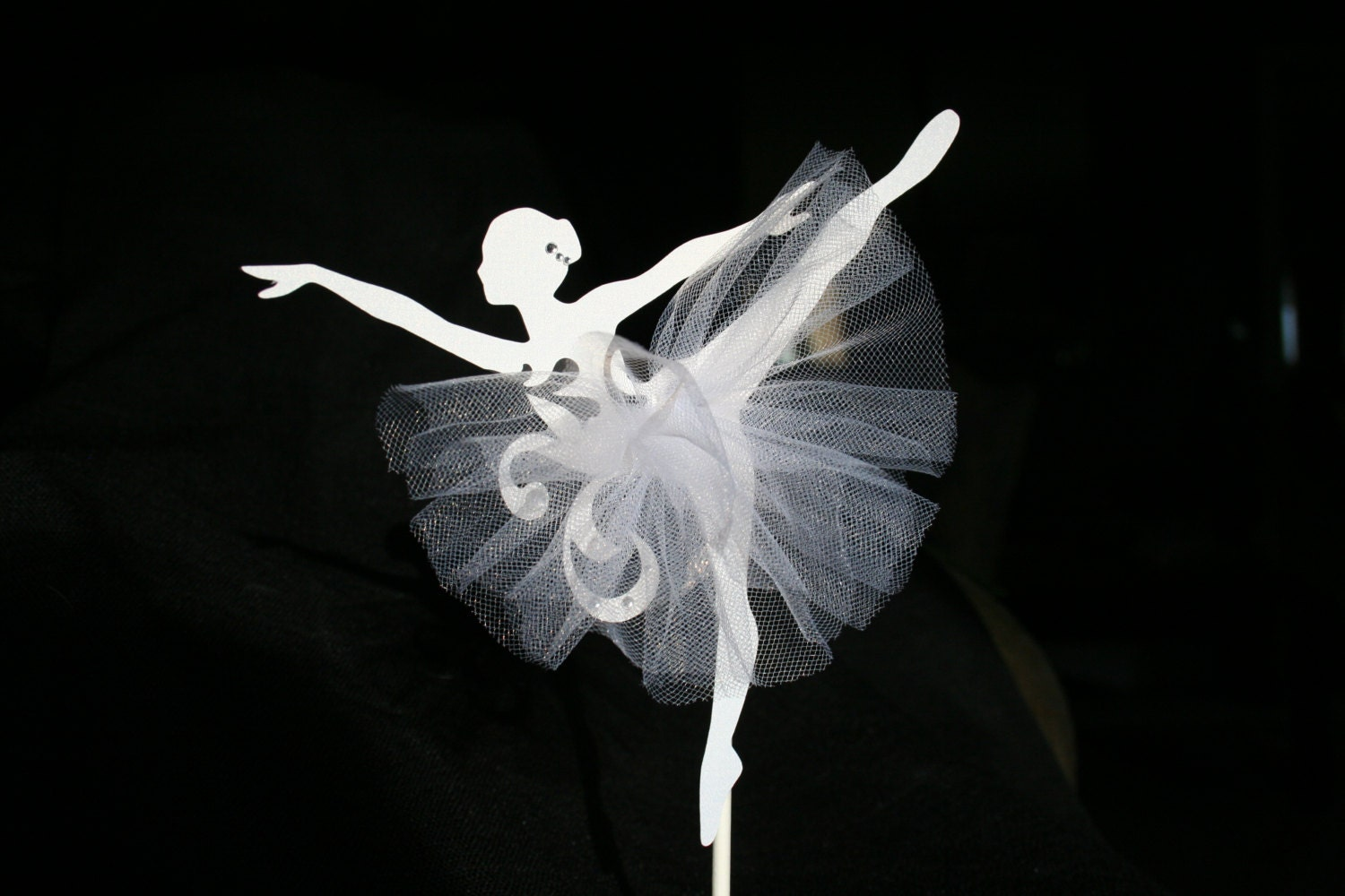 Ballet Dancer Cake Topper
