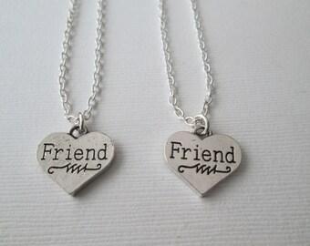 2 Friend Necklaces
