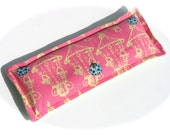 Lavender Eye Heat Pack, Hot Pink Lady Bug, Amy Butler Flannel Flax Seed Eye Pillow, Aromatherapy