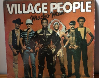 Village People Record Album- Macho Man