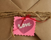 Valentines Day, Happy Anniversary, Romantic Gift Wrap for prints, Love Heart Tag