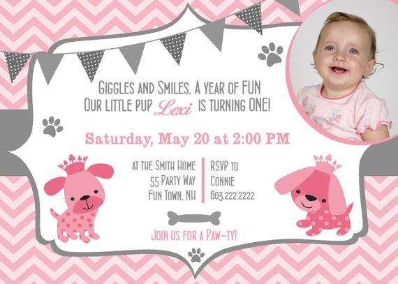 dog birthday party invitations puppy dog party invites st, Party invitations
