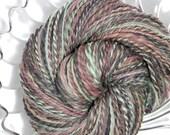Handspun Yarn - Morning Walk - Falkland Wool, DK Weight, 539 Yards