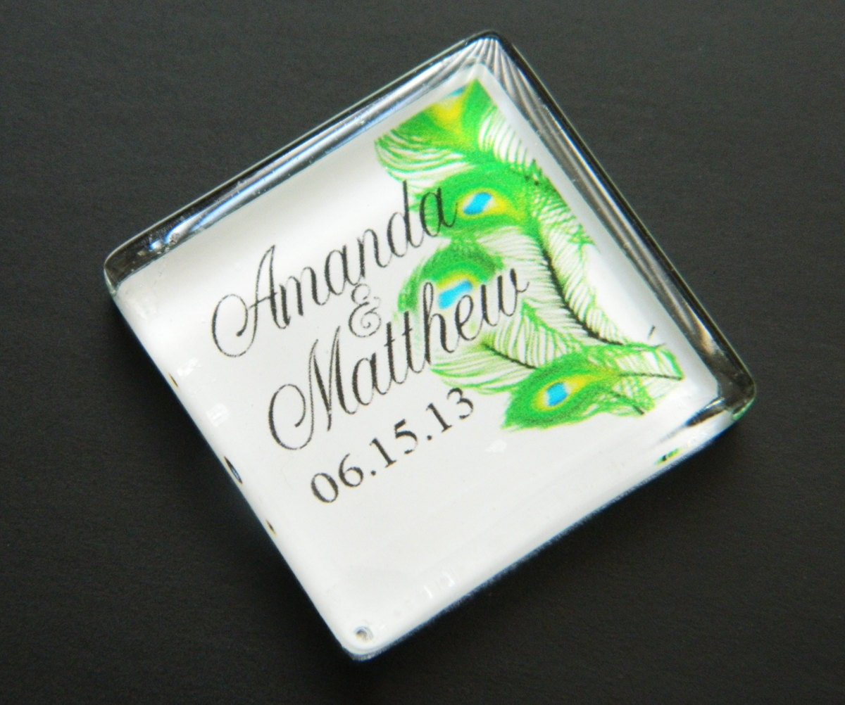 Wedding Favor Magnets Personalized Items Similar To 100 Personalized ...