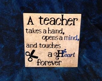 Teacher Tile