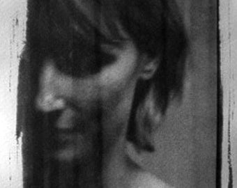 Secrets and Shadows No. 4 - Fine Art Photography.  Black and White. Platinum Print.