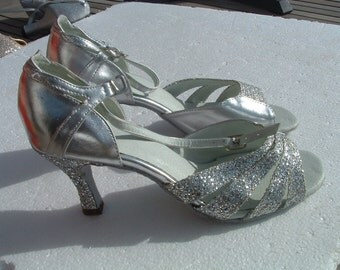 DANCING shoes never ware size 38 made in Spain circa 1980's