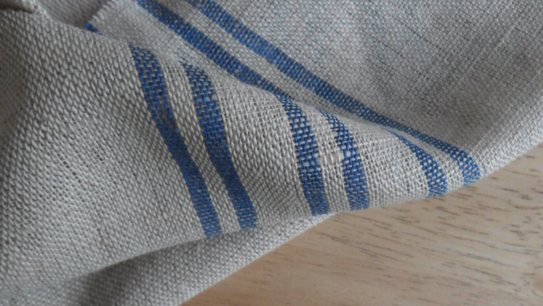 Kitchen Tea Dish Towel Linen Cotton Fabric By Linenforhome